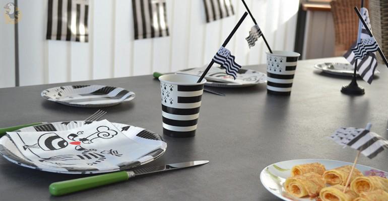 Idee Decoration De Fete Table Bretonne Bretagne