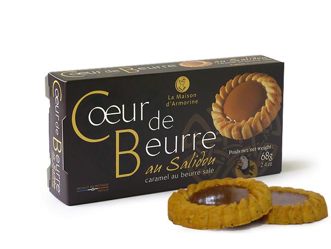 Biscuits Coeur de Beurre au Salidou