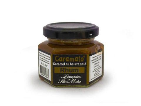 Caramel au beurre salé au rhum Caramalo