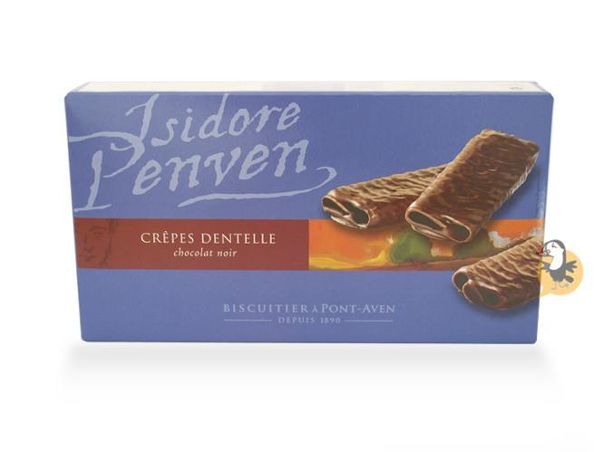 Crepes dentelles bretonnes au chocolat