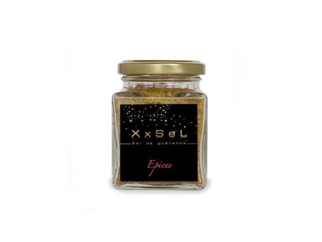 Sel de Guérande aromatisé aux épices