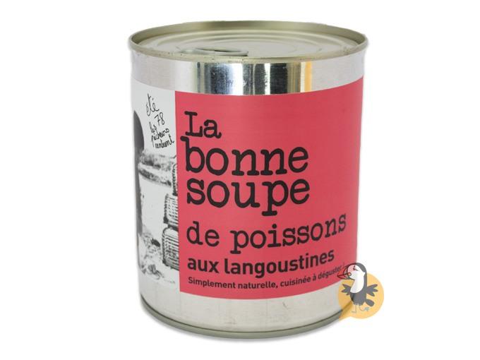 Soupe de poissons aux langoustines L'Atelier du Cuisinier