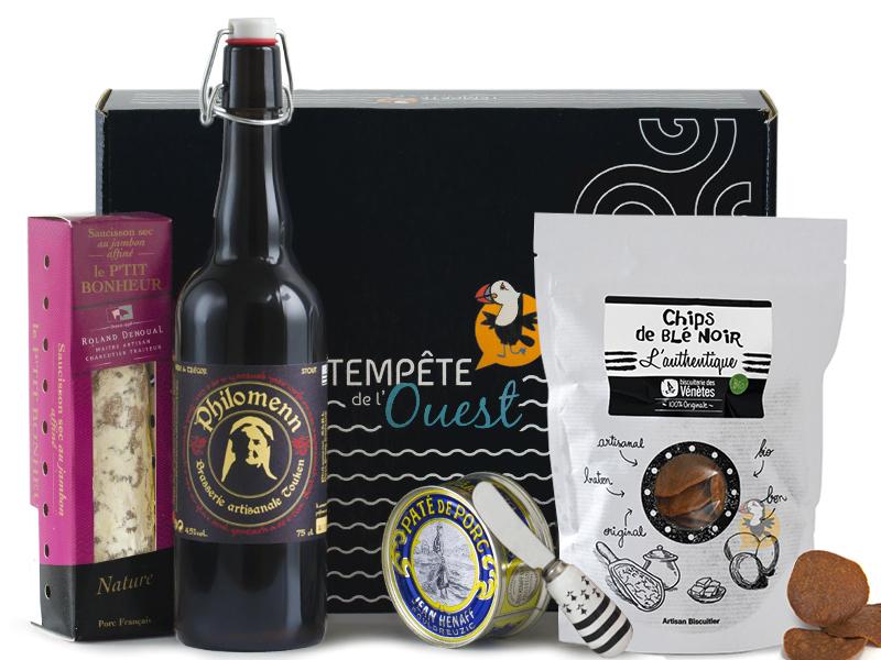 Panier gourmand apéritif breton