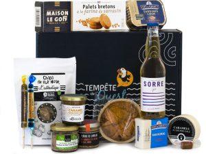 Panier gourmand spécialités bretonnes