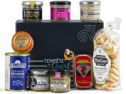 Panier garni produits bretons salés