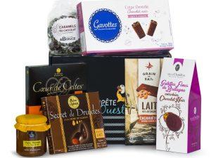 Panier gourmand chocolat