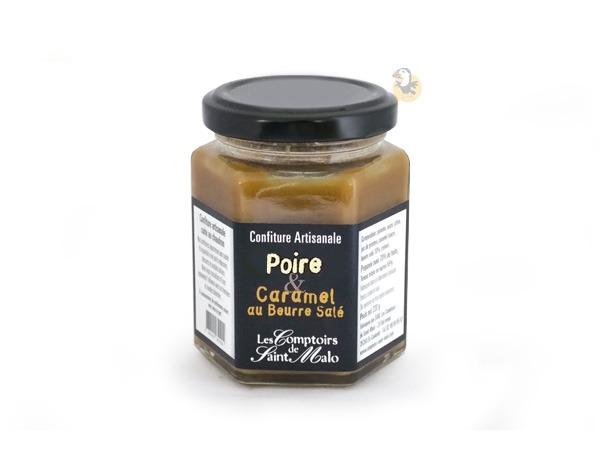 Confiture de poires et caramel beurre salé Cour d'Orgère