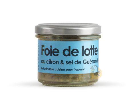 Foie de lotte au sel de Guérande