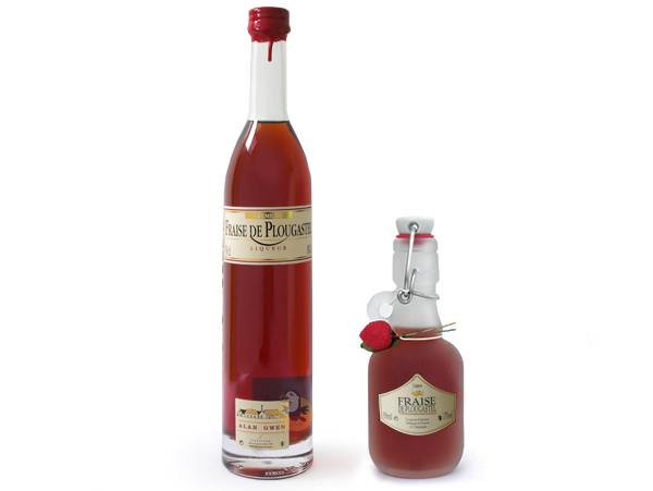 Liqueur fraise de Plougastel Fisselier