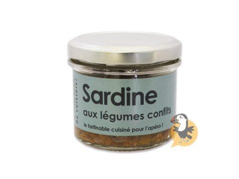 Rillettes de sardine L'Atelier du Cuisinier