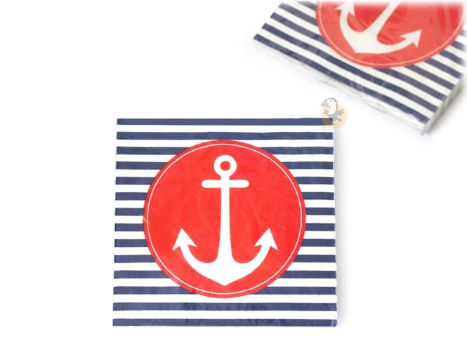 serviettes-ancre-mariniere