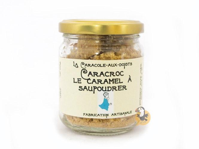 Poudre de caramel au beurre salé Caracroc