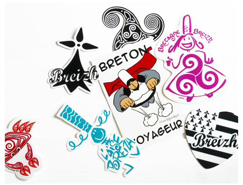Autocollants Stickers Bretons