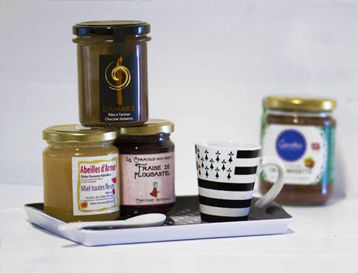 Confitures, miels et pâtes à tartiner