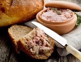 Rillettes, terrines et pâtés bretons