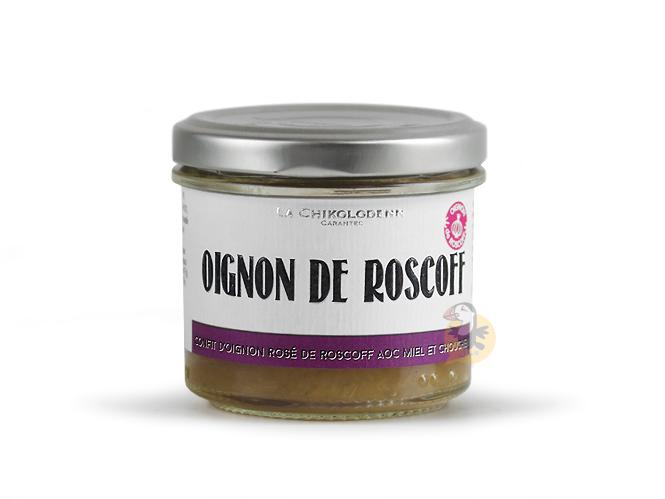 Confit o'oignons de Roscoff AOP miel et chouchen La Chikolodenn