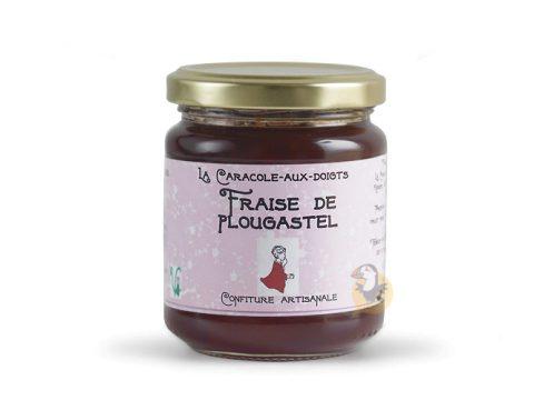 Confiture fraise de Plougastel Caracole