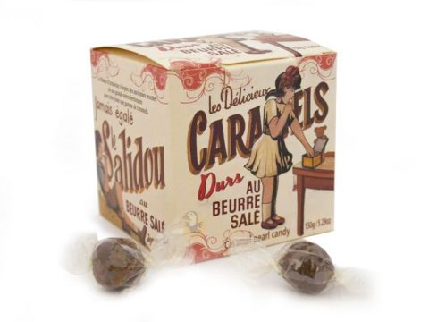 Bonbons durs au caramel beurre salé La Maison Armorine
