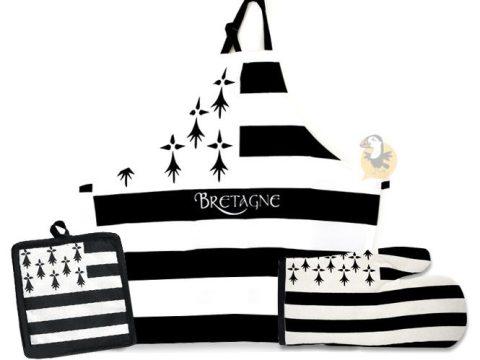 Linge de cuisine drapeau breton