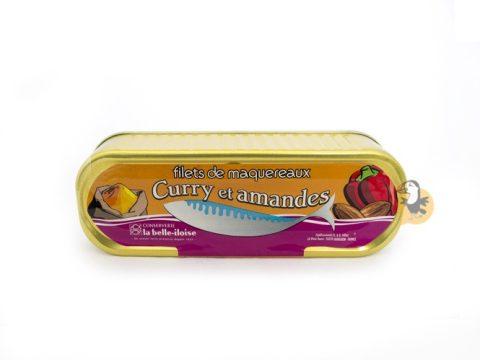 Filets de maquereaux curry et amandes La Belle-Iloise