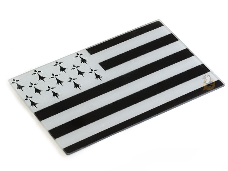 Planche à découper drapeau breton Gwenn Ha Du