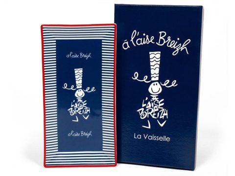 Plat à cake A L'Aise Breizh bleu