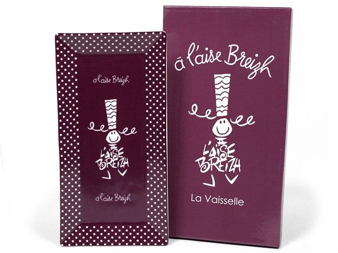 Plat à cake A L'Aise Breizh prune