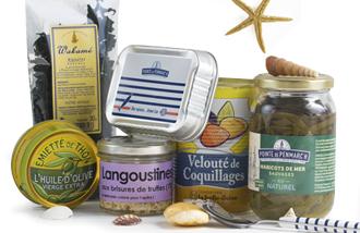 Produits de la mer bretons