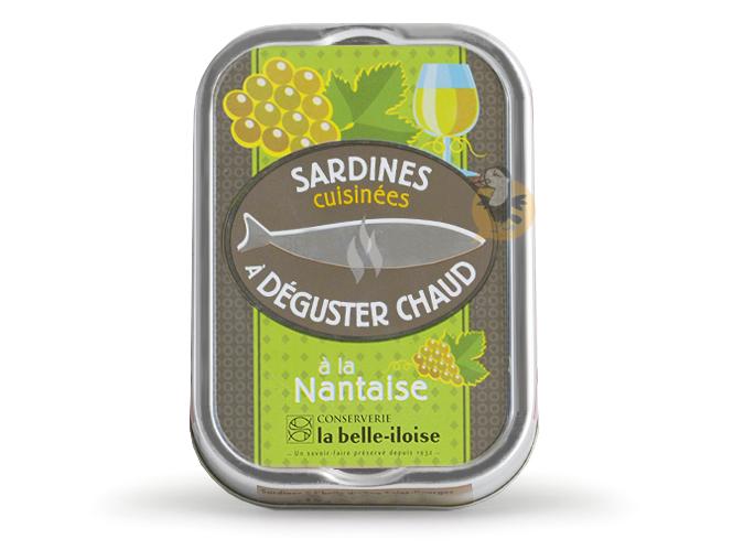 Sardines chaudes à la nantaise La Belle-Iloise