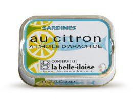 Sardines au citron La Belle-Iloise