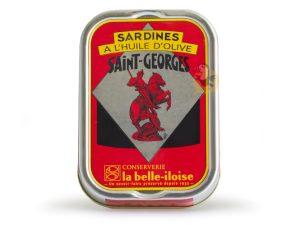 Sardines à l'huile d'olive La Belle-Iloise