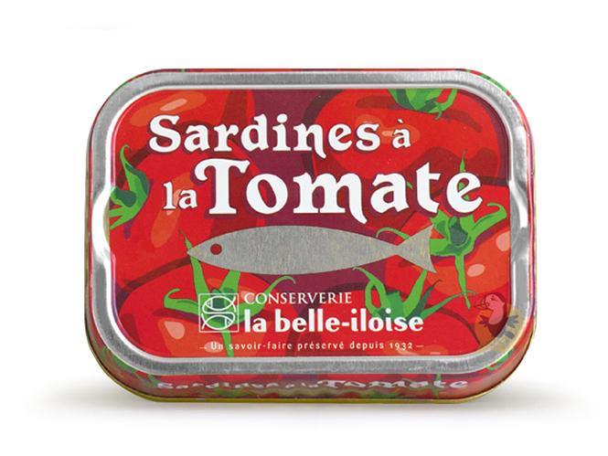Sardines à la tomate La Belle-Iloise