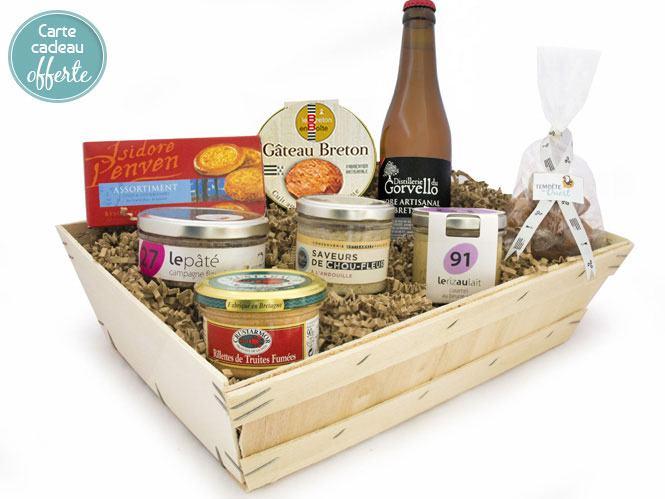 Coffret spécialités bretonnes