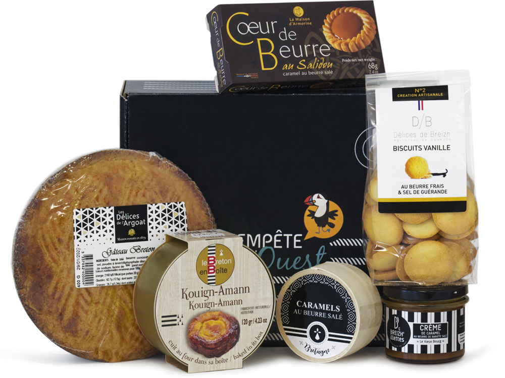 Coffret gourmand pur beurre