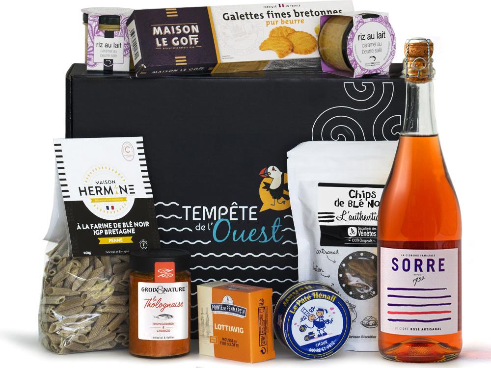 Coffret repas breton
