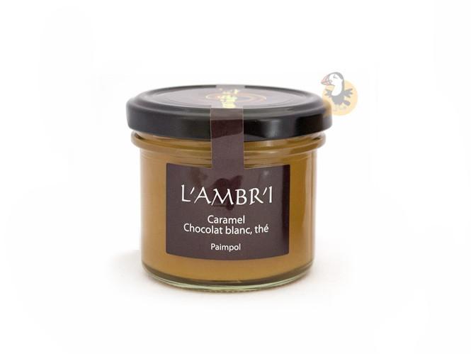 Caramel au chocolat blanc et thé L'Ambr1