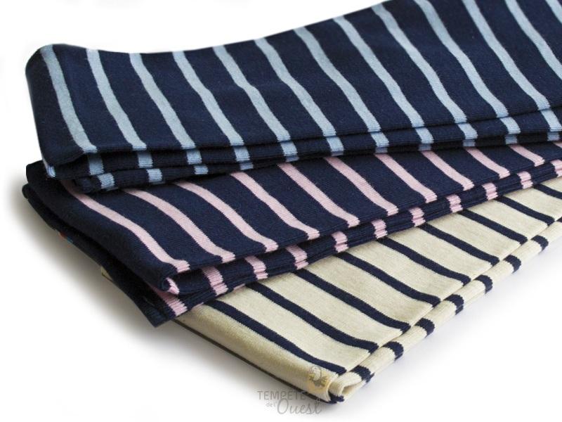 ⇒ Écharpe pour bébé à rayures Marinière - 3 Coloris au Choix efb87c3a972