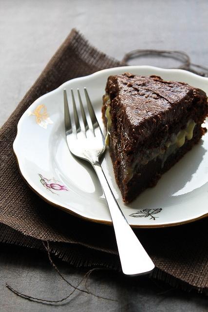 Gateau au chocolat à la fleur de sel