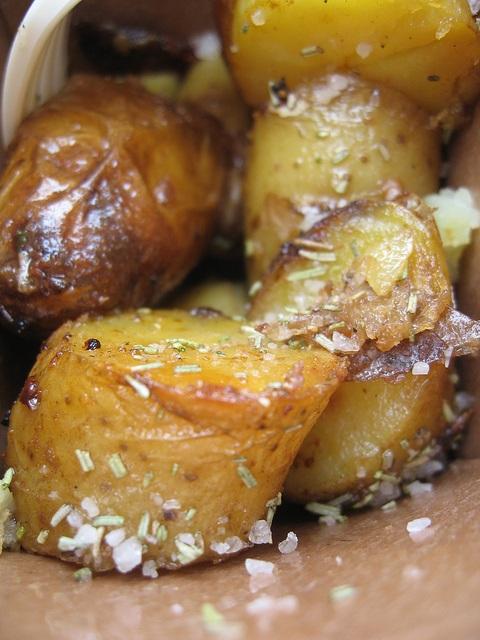 Pommes de terre à la fleur de sel