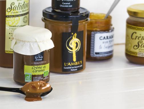Crèmes de caramel au beurre salé
