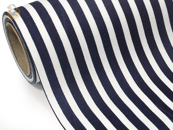 chemin de table bleu marini re en coton 28 cm x 5 m d co. Black Bedroom Furniture Sets. Home Design Ideas