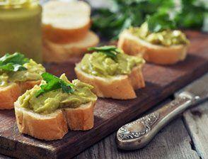 Tartinables de légumes et confits
