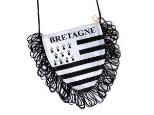 Fanion voiture drapeau breton