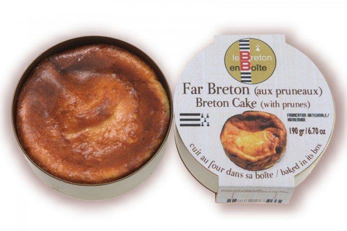 Far breton aux pruneaux en boite