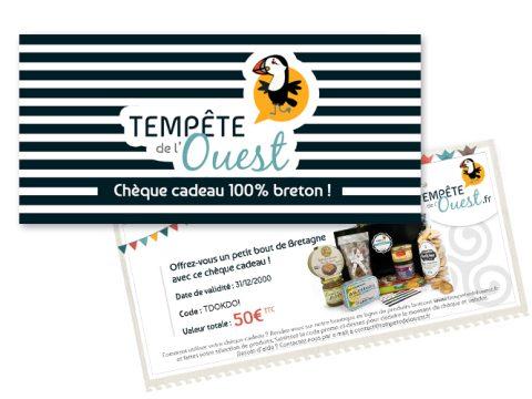 Chèque cadeau breton