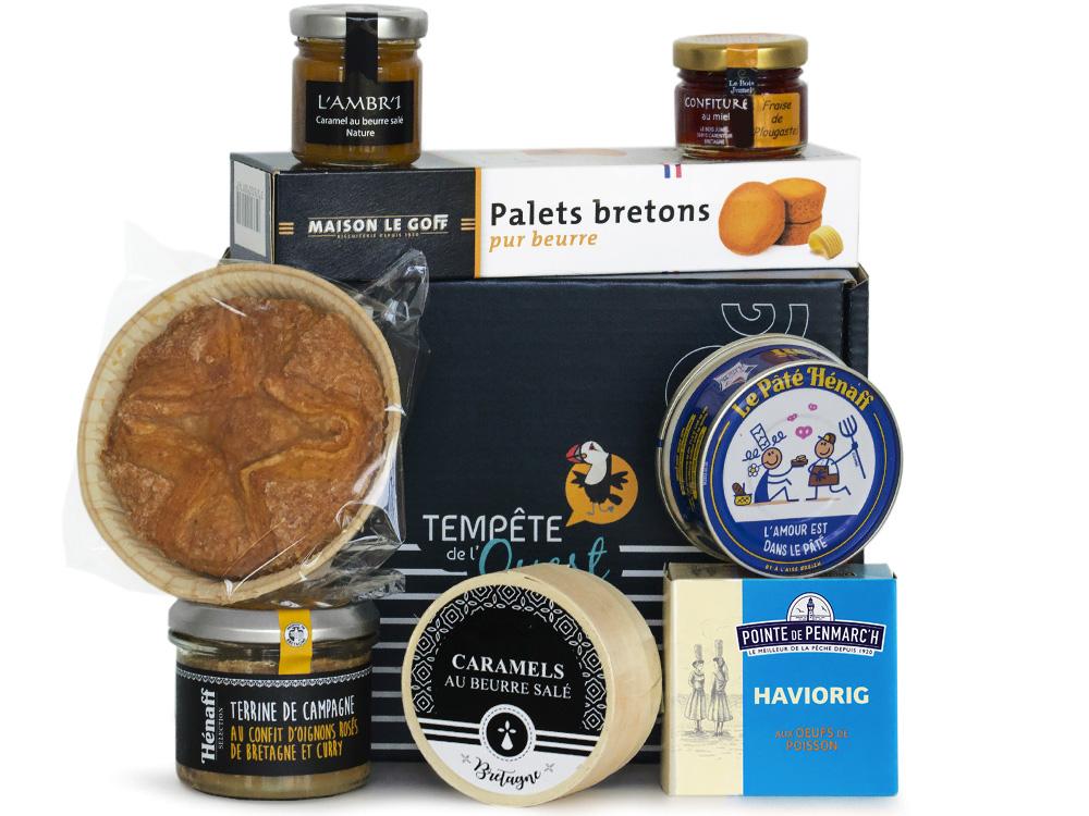 Panier garni produits bretons