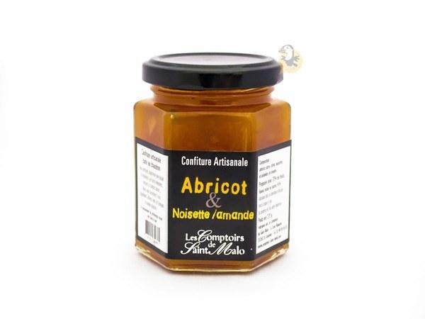 Confiture d'abricot noisette et amande