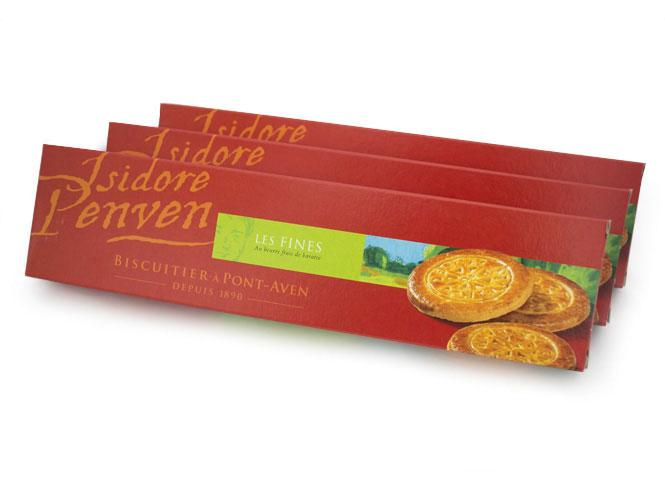 Lot de 3 paquets de galettes bretonnes