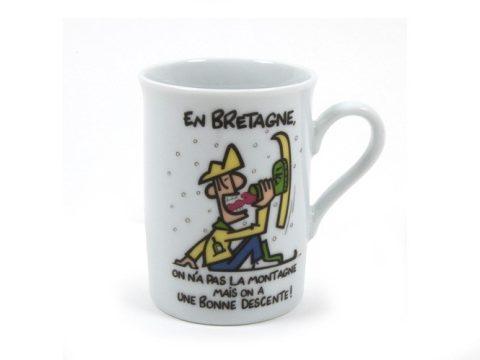 Tasse Bonne Descente A l'Aise Breizh