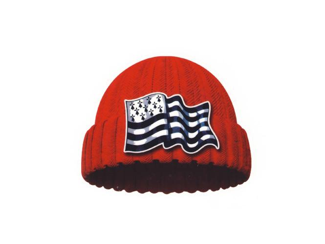Autocollant bonnet rouge
